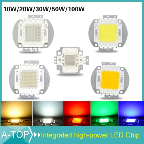 Epic Ultra Bright W W W W W LED Bead Chip For High Power LED Floodlight Lamp