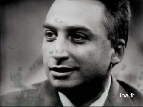 """Roland Barthes discussing """"Mythologies"""" on French television. (In French)"""