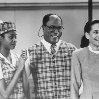 Still of John Amos, Allison Dean and Shari Headley in Coming to America