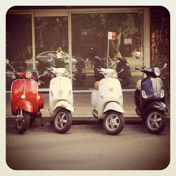 Bondi Bikes #vespa #atbondi #bondi #bikes #scooter #sydney