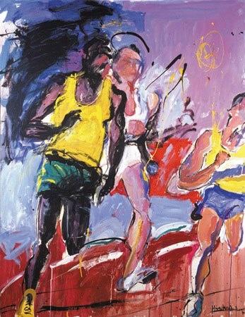 Mina Papatheodorou Valyraki - The Yellow Runners