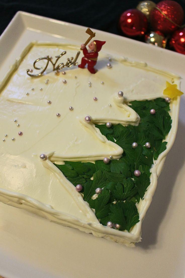ローストチキン&ジェノベーゼのケーキイッチ