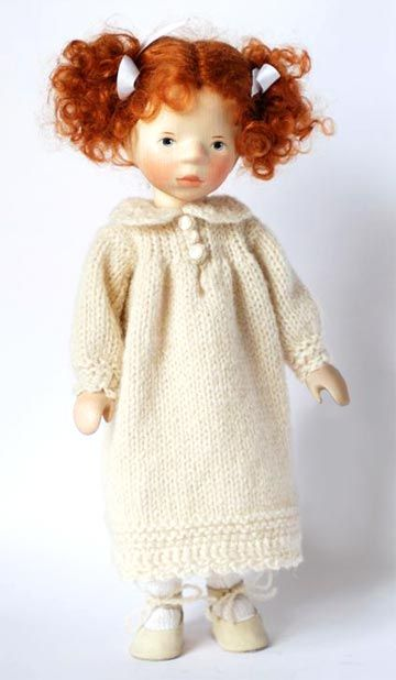 September 2011 Girl With Red Hair DJ031 by Elisabeth Pongratz at The Toy Shoppe