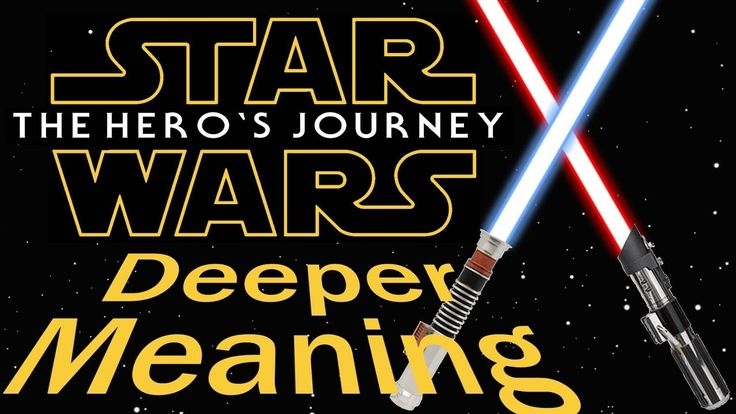 The Deeper Meaning of Star Wars: The Hero's Journey or Monomyth (1 of 4)