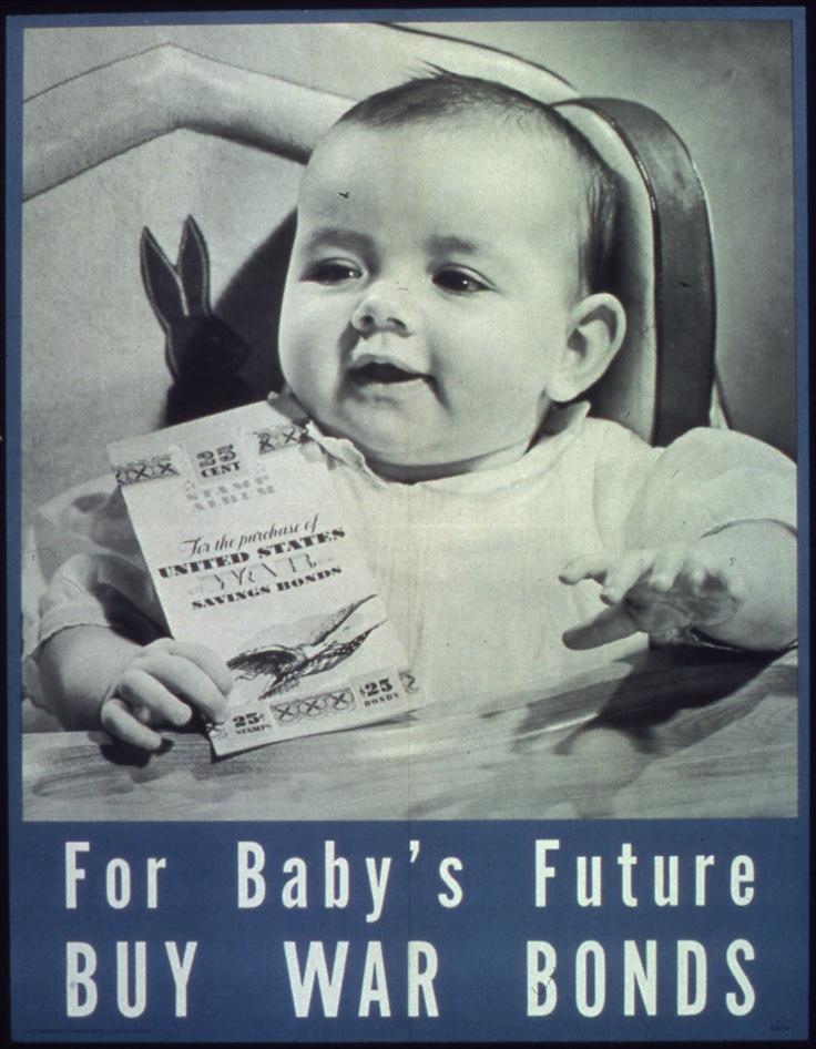 """""""Buy War Bonds"""" posters - Retronaut"""