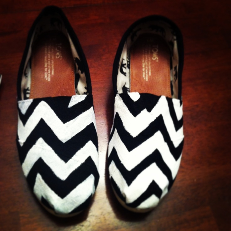 Chevron toms. Can't wait to wear them:)))