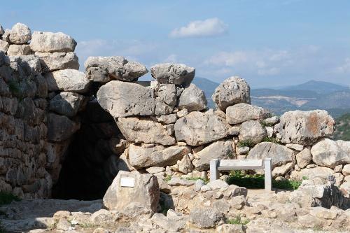 Mycenae    Cistern at Mycenae.    Photo by Yannis Lefakis