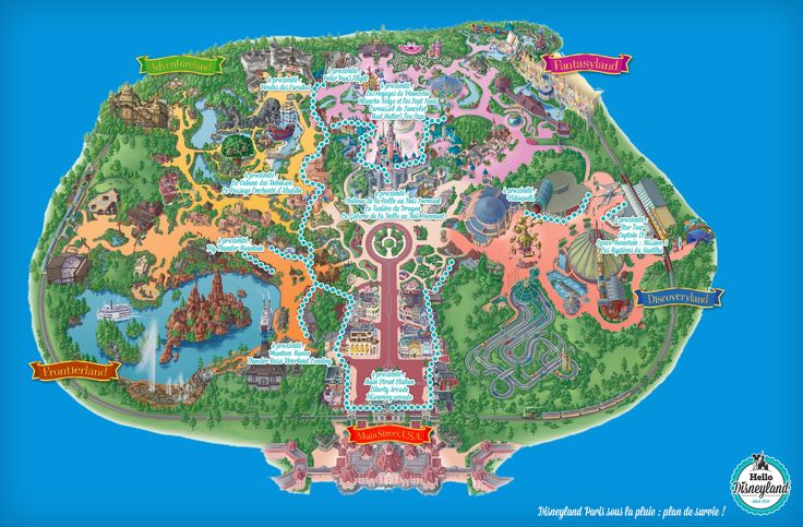 Disneyland Paris sous la pluie : mode d'emploi | Hello Disneyland : Le meilleur guide en ligne pour Disneyland Paris