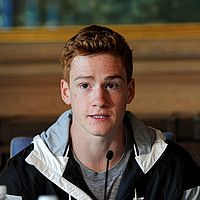 Shawn Barber at the Press Conference of the 2016 ExxonMobil Bislett Games in Oslo.  Shawn Barber Shawnacy Campbell Barber Shawnacy Barber Pole Vault @vaultbarber #shawnbarber #shawnacybarber #vaultbarber #polevault. [Barber came out in April, 2017.  He was 10th in the Olympic pole vault in 2016.  Wikipedia.]