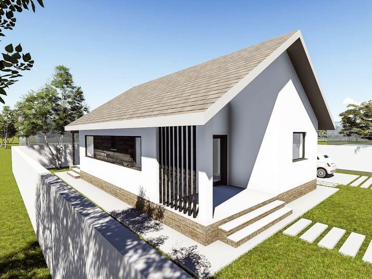 Proiecte de case cu o camera pentru tineri