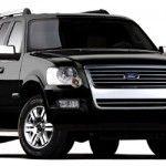 Black Ford Explorer