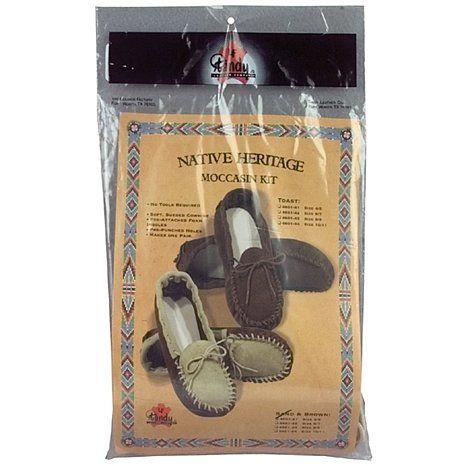 Native Heritage Moccasins Kit - Adult 10/11