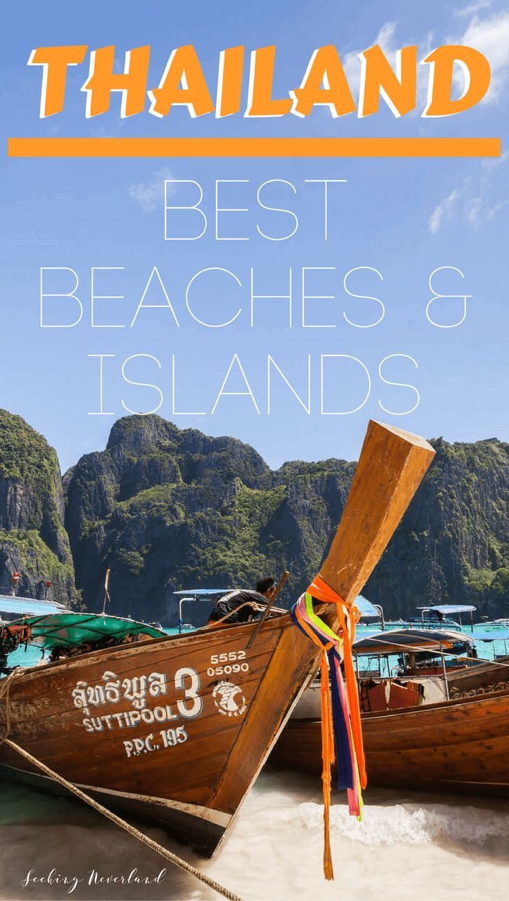 The tropical islands of Thailand are home to white-sand beaches, coral reefs, and turquoise water. These are the best #beaches and #islands in #Thailand.  // #beachlife #travelguides #tourist #asia #summer #destinations #kohphangan #kohsamui #kohphiphi #kohyaonoi #kohlipe #kohchang