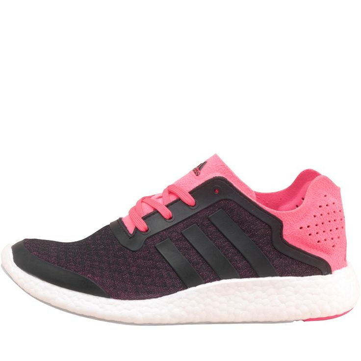 adidas Chaussures de Course Pure Boost Reveal Neutral Femme Rose/Noir
