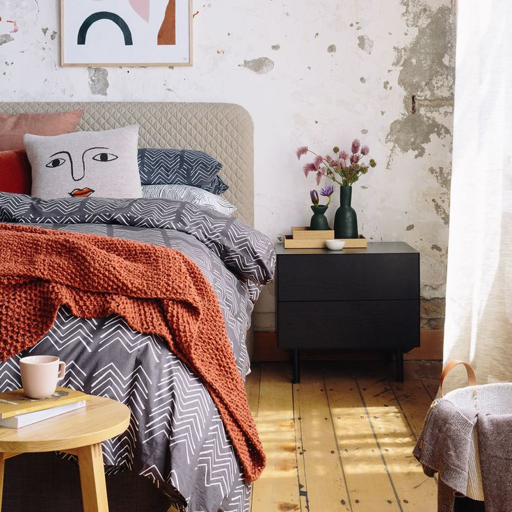 5 Tips For Snapping Your Sleep Style Space  Credits: Styling by Sam van Kan & Alice Lines Products from Città and stylists' own Artwork by Samantha Totty