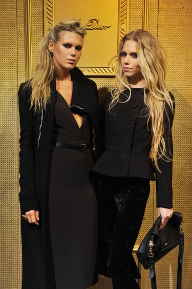 Alexandra and Theodora Richards, daughters of Patti Hansen & Keith Richards