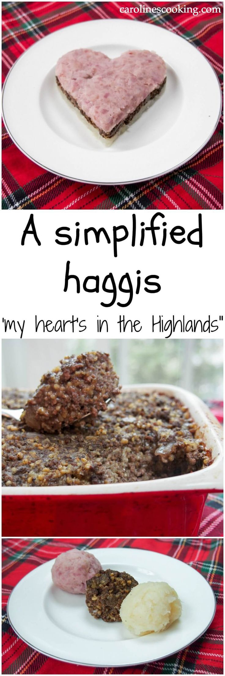 A simplified version of the traditional Scottish dish, haggis, using more commonly found ingredients but retaining the flavor and style of the original. perfect as part of a Burns Night feast, or just to try something new/take you back to Scotland. So tasty!