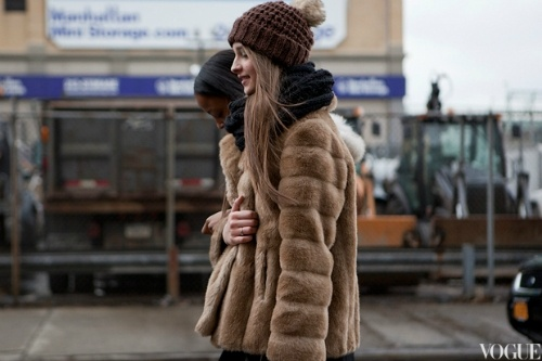 : Faux Fur, Fur Coats, Fashion Street Style, Style Inspiration, Fall Wins, Beanie, Style Pinboard, Vintage Fur, Winter Coats