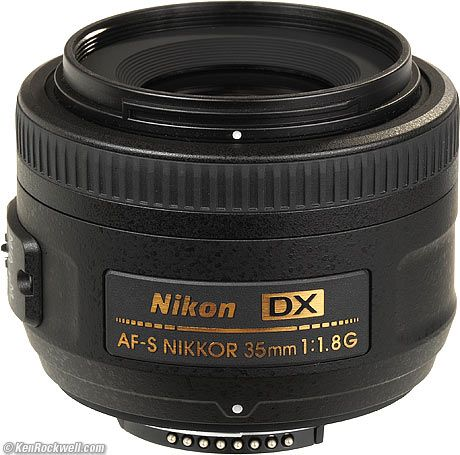 Great guide to Nikon lenses. Ken Rockwell (good for all things Nikon, really!). He says get the Nikon 35mm f/1.8 and you'll be ready for practically any shot.