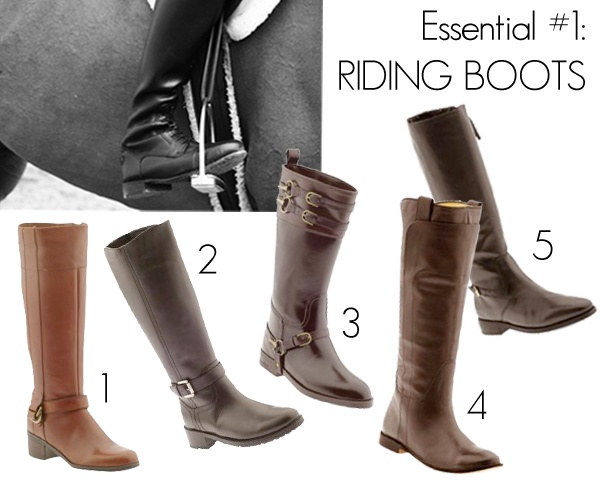 Riding Boots Fashion Essentials