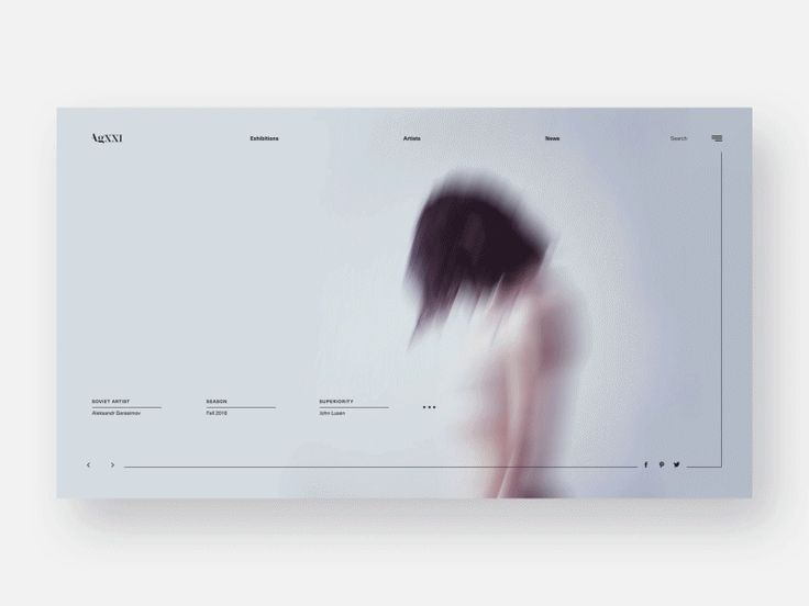 UI Interactions of the week #42: AgXXI Website #4 by Diana Polar