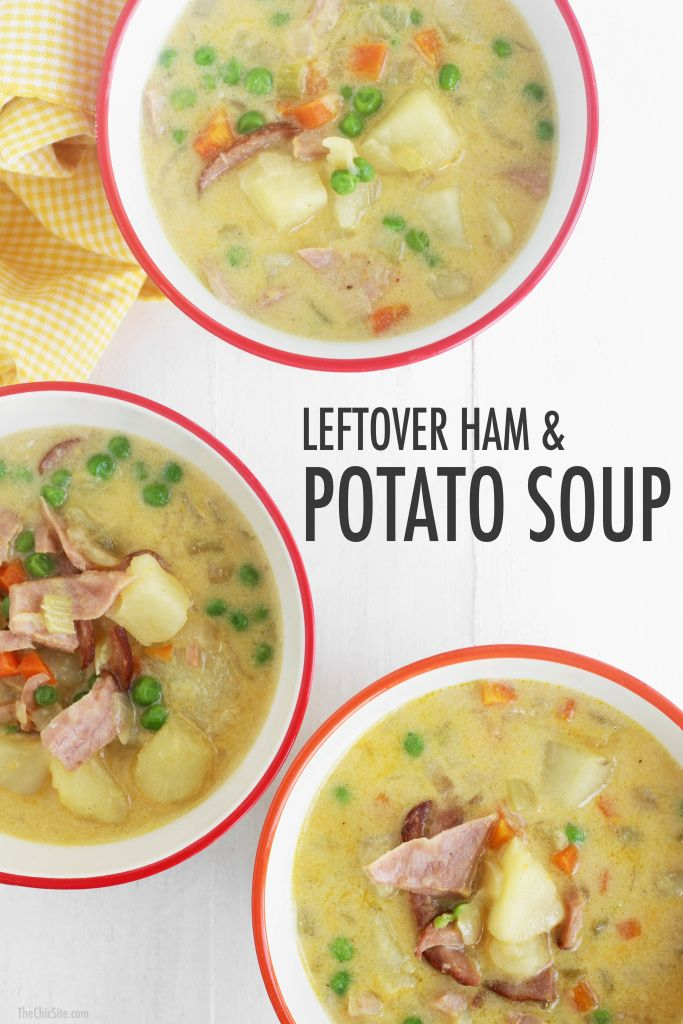 Use up your leftover Easter ham with this delicious soup recipe!