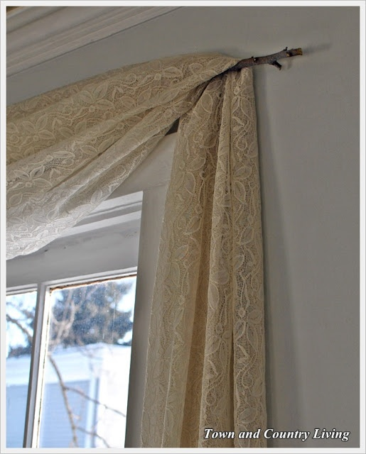 Image detail for -Town and Country Living: One Dollar No-Sew Curtains