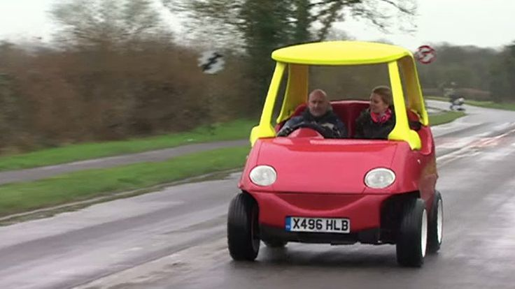 You can now buy a 70 mph adult version of the Little Tikes toy car.