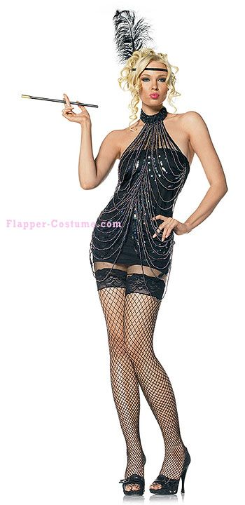 Roaring Twenties Costumes For Women | Flapper costume and accessories from 1920's Prohibition.