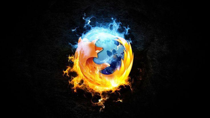Firefox fan art logo