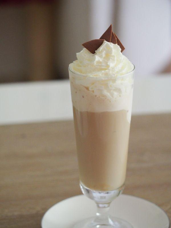 Bunte Kuchenabenteuer Eiskaffee 1 Portion Eis Kaffee Lebensmittel Essen Eiskaffee