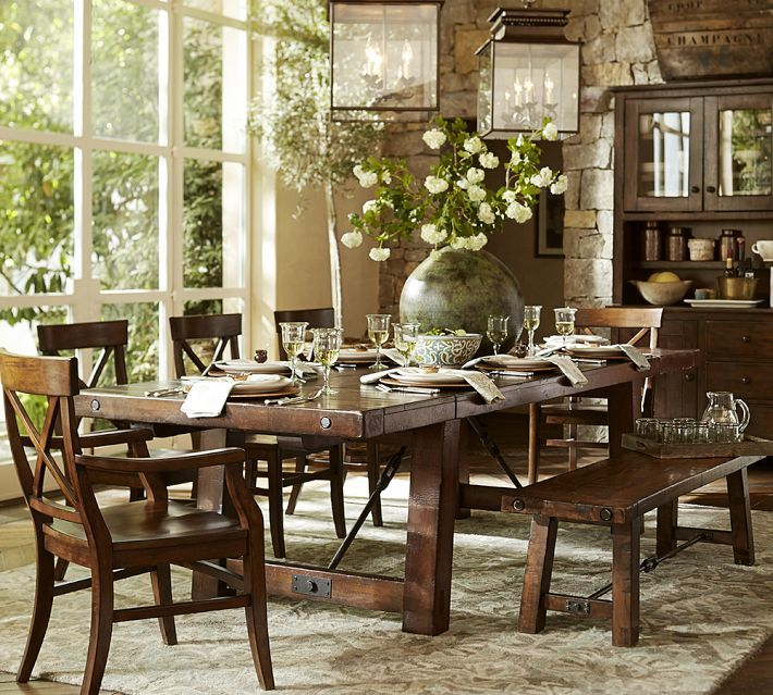 15 Best Dining Room Images On Pinterest  Dining Rooms Dining Stunning Dining Room Sets Pottery Barn 2018