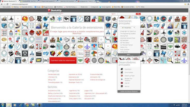 Los 5 mejores sitios web donde descargar Plugins para Sketchup (+lista d...