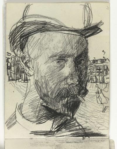 Zelfportret, Isaac Israels