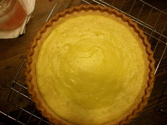 This is so easy and taste just like lemon pie. I gave my neighbor some squash and she in return gave me this recipe. I made it and my dh loved it. One large yellow squash is enough for two pies. The first time I made it, I used 1 teaspoon orange extract because I didnt have lemon and I added fresh lemon juice to it. Tasted just like lemon pie! I wish I could give this 5 stars!!! Well really, I do!
