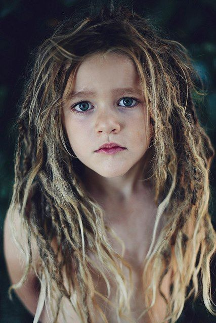 I would probably have tighter dreads but absolutely consider this for my child if it felt right.  <3