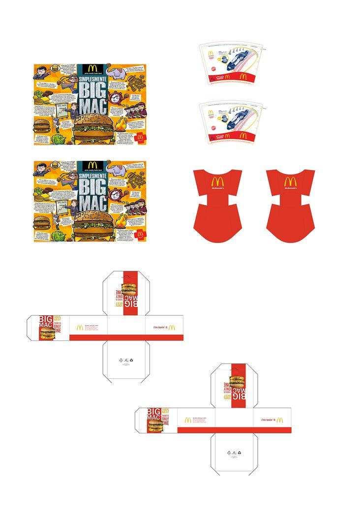 Molde impressão Mini Lanche McDonald's para Barbie! – Caseirices Kids