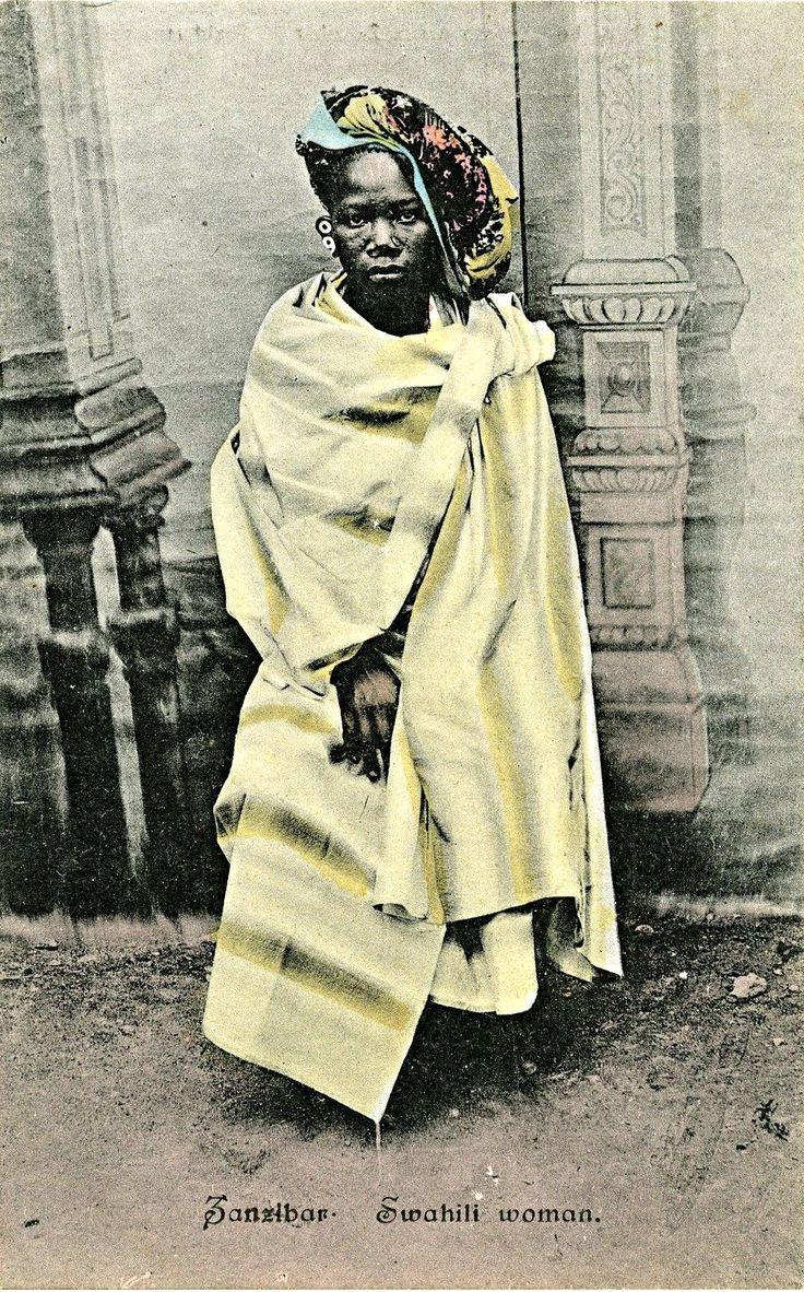 Swahili Woman, Zanzibar c1910