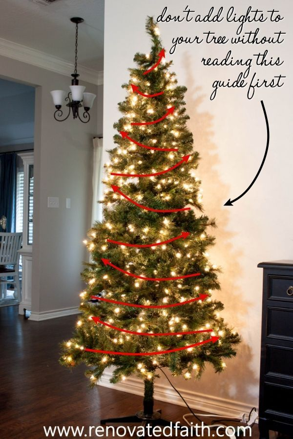 Decorate A Christmas Tree Step By Step Ribbon On Tree Ideas Hacks Christmas Tree Decorating Tips Classic Christmas Tree Fake Christmas Trees
