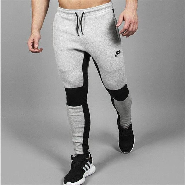 Men's fitness Compression pants casual gyms pants men tracksuits clothing
