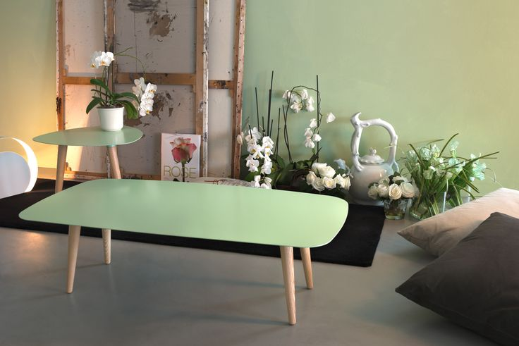 #MEMEDESIGN# #NORD# - two different sizes of this elegant #COFFEE-TABLE# in a lovely flower space