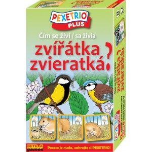 Pexetrio - Čím sa živia zvieratká