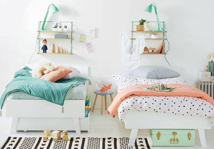 449 best chambres d 39 enfant ludiques et color es images on - Chambre enfant orange ...