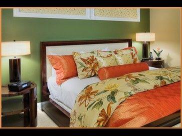 Interior Design Solutions Maui Orange is a fantastic color in a Hawaiian Home.