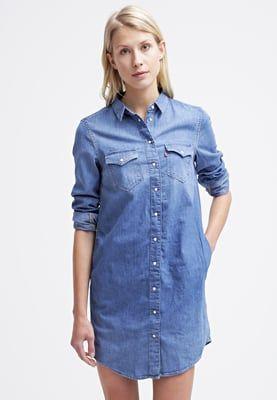bestil Levi's® Iconic - Jeanskjole / cowboykjoler - blue til kr 899,00 (06-05-16). Køb hos Zalando og få gratis levering.