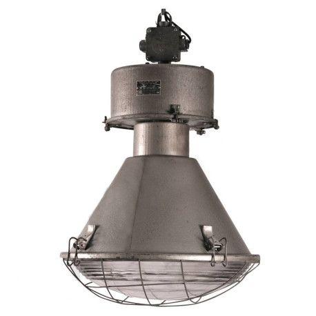 Vintage fabriekslamp
