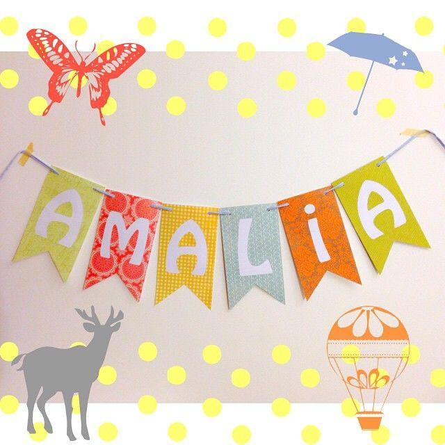 Encarga tus banderines personalizados! Baby shower, cumpleaños, para la pieza de tus niños o de regalo.... Lo que quieras! Cada letra vale $1.200 ❤️✨