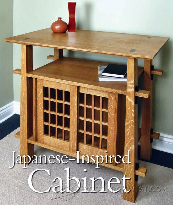 Japanese Cabinet Plans Furniture Plans And Projects Woodwork