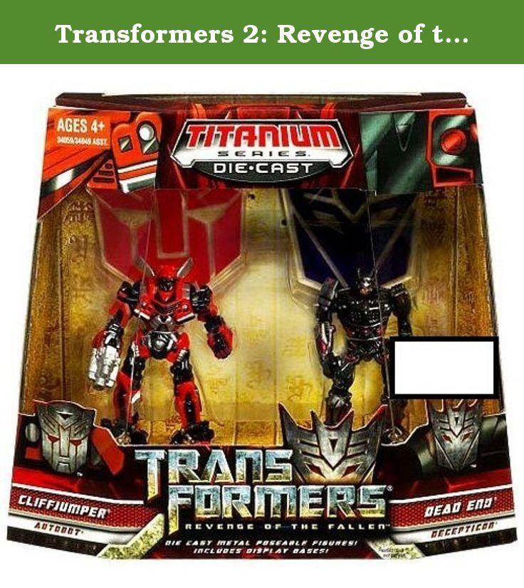 Transformers 2: Revenge of the Fallen Exclusive Titanium Series Die Cast Figure 2-Pack Cliffjumper and Dead End. Transformers 2: Revenge of the Fallen Exclusive Titanium Series Die Cast Figure 2-Pack Cliffjumper and Dead End.