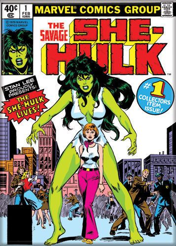 The SAVAGE she-hulk MARVEL refrigerator COLLECTIBLE novelty GAG gift MAGNET #AtaBoy